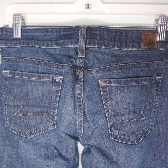 American Eagle Outfitters Denim - American Eagle 77 Straight Dark Wash Blue Jeans